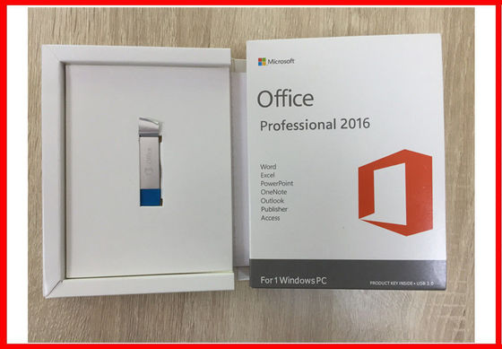 China De originele Microsoft Office-Activering van Usb van de Professional 2016 Kleinhandelsdoos online fabriek