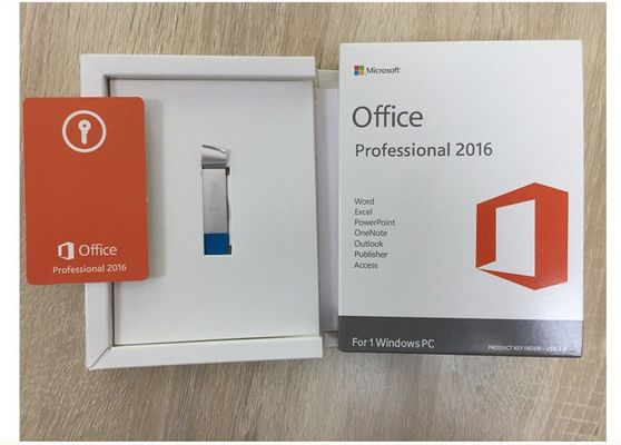 China Engelse Microsoft Office-Beroeps plus 2016, de Stickeretiket van de Venstersproductcode fabriek