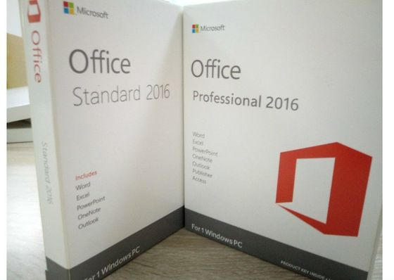 China USB 3,0 Flitsaandrijving, Microsoft Office 2016 Pro plus Sleutel 2 GB/1 GB RAM fabriek